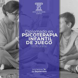 Diplomado en psicoterapia infantil de juego en linea
