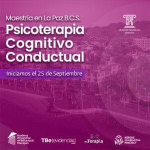 Maestría en Psicoterapia Cognitivo Conductual en La Paz