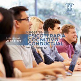 Maestria en psicoterapia cognitivo conductual en Veracruz